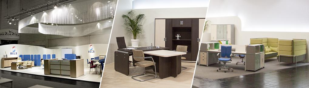 мебель БЕЛС на выставках