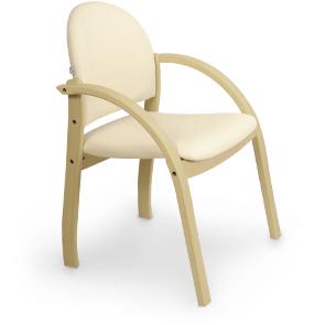 Оригинальный стул для посетителей Джанет бежевый