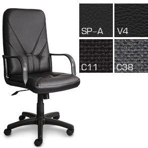 Удобное компьютерное кресло Манагер с высокой спинкой