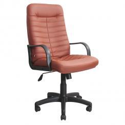 Кресло руководителя кожаное Джордан